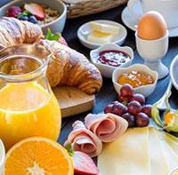 朝食デリバリー