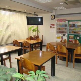 社員寮と社員食堂の併用